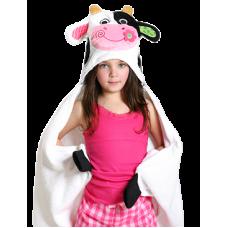 Serviette à Capuchon Vache