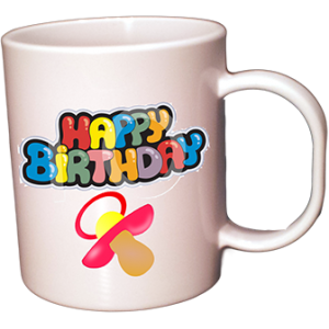 Tasse Photo 11oz en Plastique