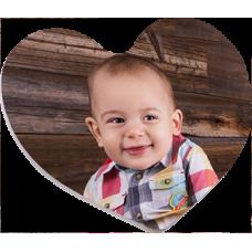 Aimant en Coeur St-Valentin