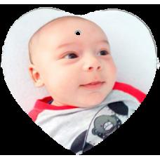 Ornement Céramique Coeur