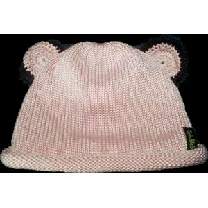 Bonnet Ourson en Tricot de Coton Soyeux
