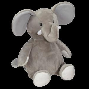 Éléphant 16'' Gris