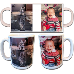 Tasse Photo en Céramique 15oz