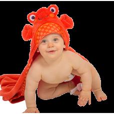 Serviette à Capuchon Crabe