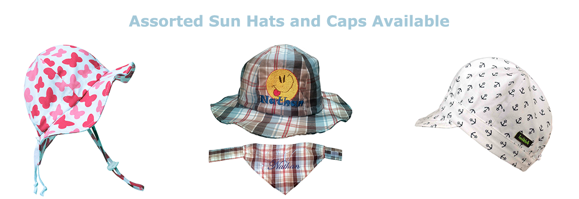 Assorted Sun Hats and Caps Available
