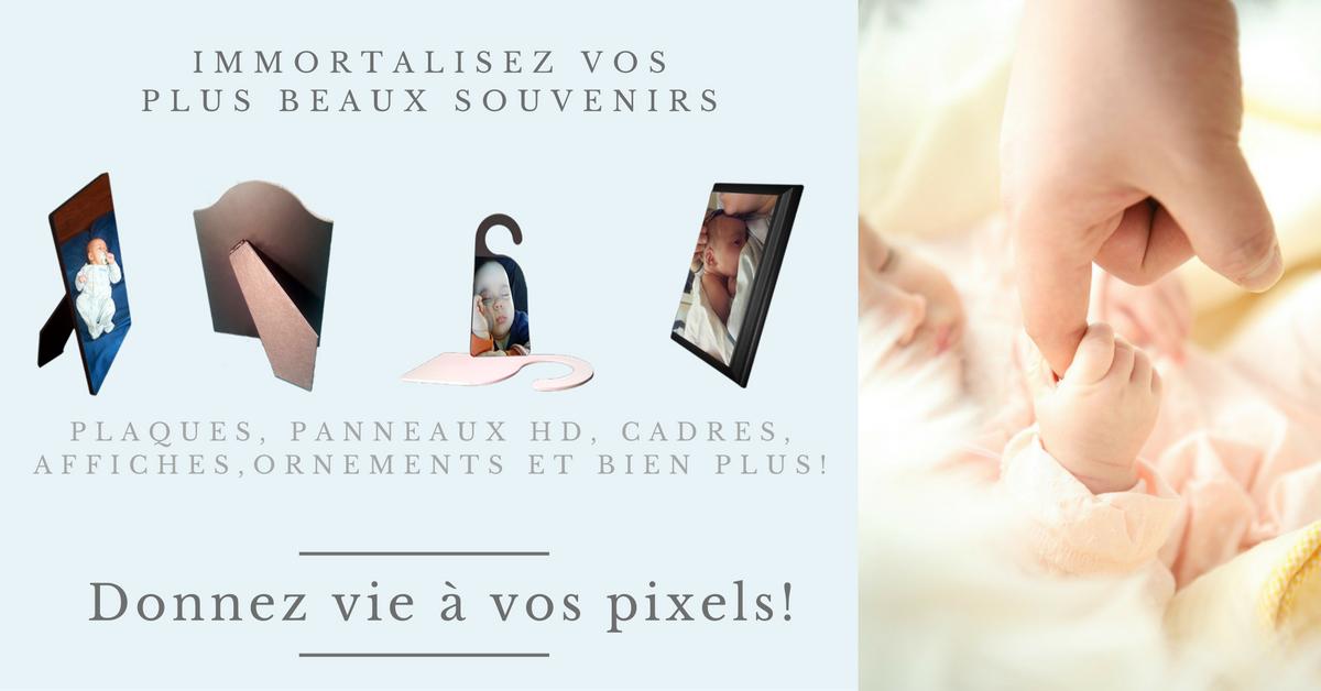 Donnez vie à vos pixels!
